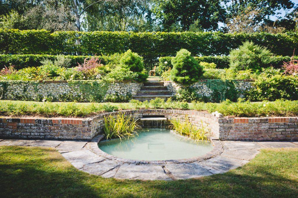 Berkshire Wedding Venue gardens