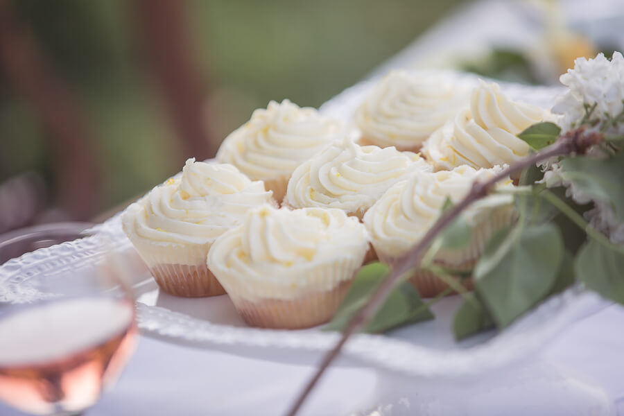 Micro Wedding Individual Cup Cakes