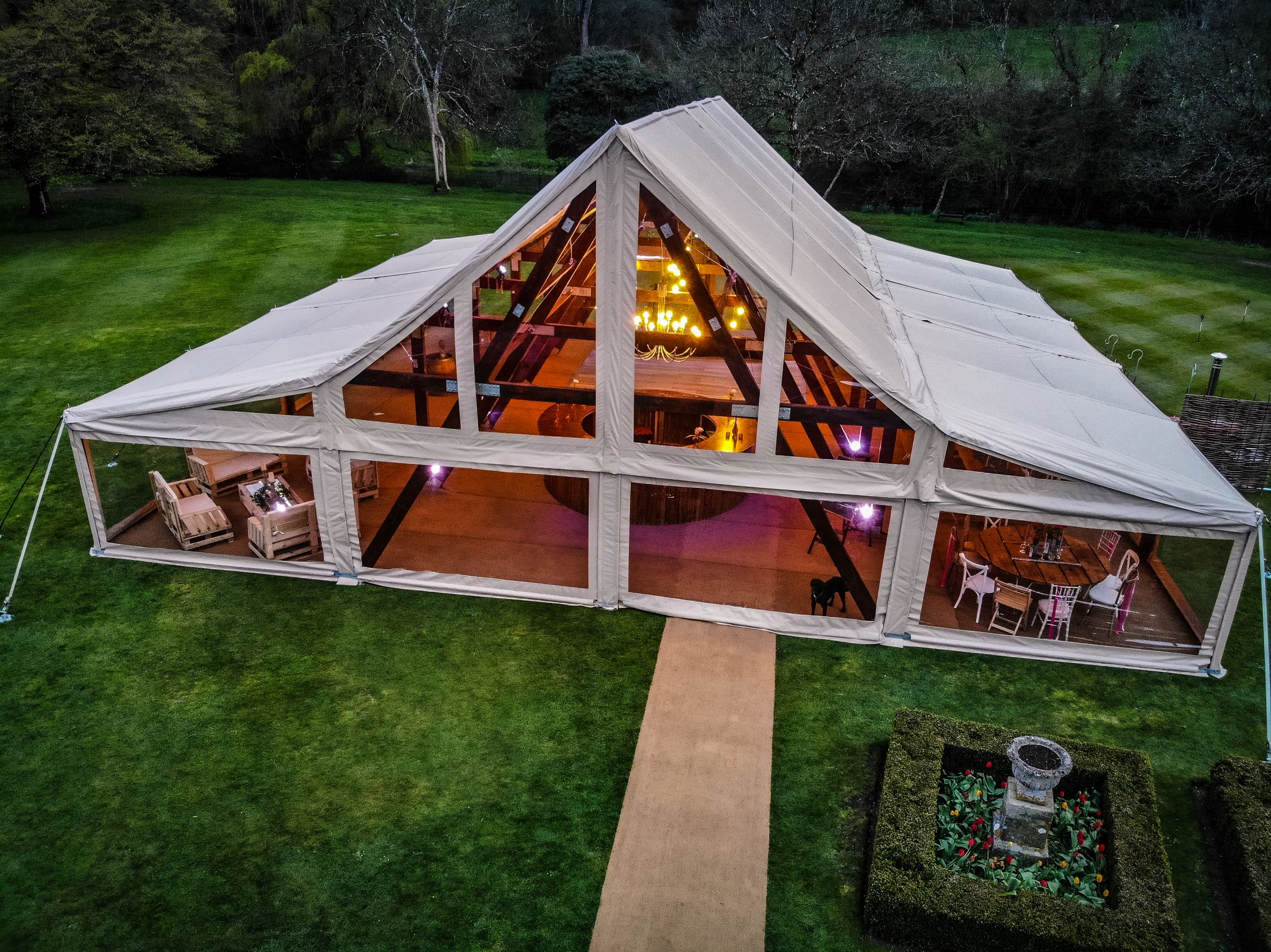 marquee wedding cruck tent party marquee