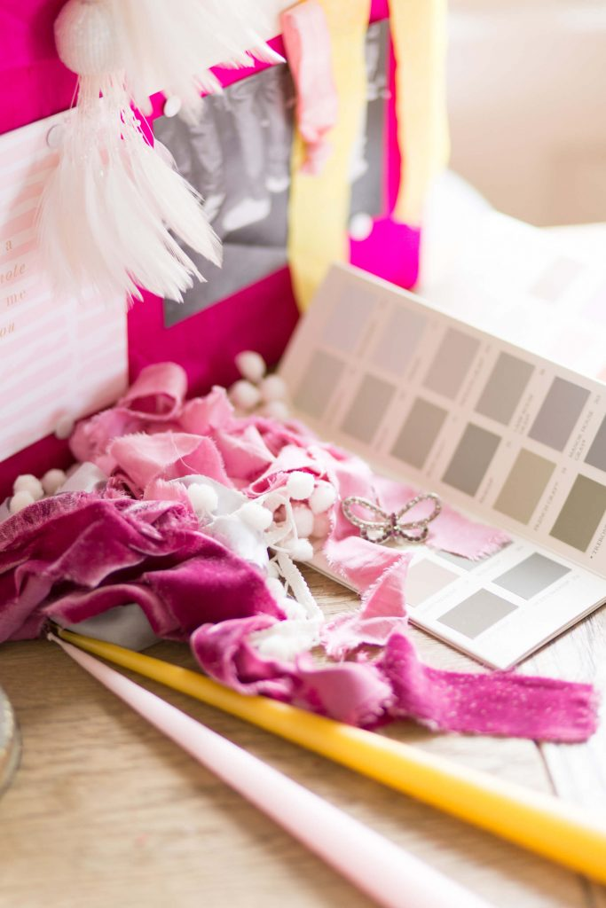 Ribbons, fabric, candles, colour all inspiration for your wedding