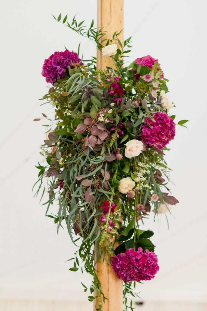 Wedding Budget Flowers for Wedding Venues and Marquees